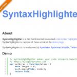 ソースを綺麗に表示するSyntaxHighlighterプラグインを入れてみる